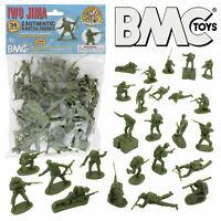 1:32 54mm US Marines Olive 36 Figures Plastic Toy Soldier BMC 40034