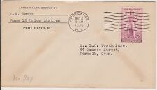 Used First Day Cover United States Stamps
