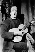 Fred Gwynne As Herman Playing Guitar Singing In The Munsters 11x17 Mini Poster