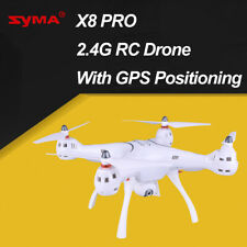 Syma X8PRO 2.4G 720P HD Wifi Camera FPV RC Drone with GPS Real Time Headless EU