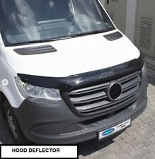 FIT FOR MERCEDES SPRINTER W907 HOOD DEFLECTOR BUG GUARD HOOD PROTECTOR 2017-