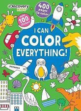 Discovery Kids : I Can Color Everything! by Parragon Books Ltd (2016, Paperback)