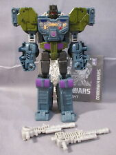 "Transformers Combiner Wars ""ONSLAUGHT"" C9+ Combaticons Complete + Instructions"