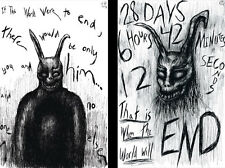Donnie Darko Frank The Rabbit Lot of 2 prints 11x 17 Quality Posters
