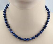 Kyanit-Kette blauer Disthen rund Kyanit Halskette für Damen 45,5 cm lang