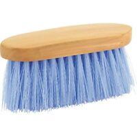 Eldorado Piel y Cepillo de Melena con Largo Cerdas Azul Claro para Caballos