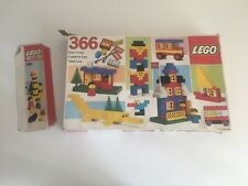 Vintage Lego Set 366 Incomplete Boxed in Acceptable Cond. UNCHECK'D