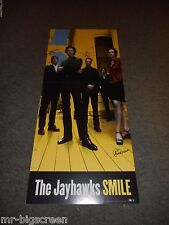 THE JAYHAWKS - SMILE - AUTOGRAPHED MOUNTED POSTER - 2000