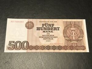 East Germany DDR 1985 100 Mark. Uncirculated Banknote
