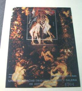 Souvenir Sheets Foreign Paraguay Scott# C517 Christmas 1982 MNH  H120