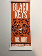 The Black Keys Nashville Dr Dog Print Mafia Art Poster Print 2006 Rare