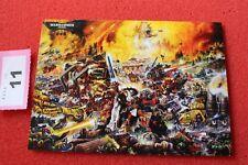 Juegos taller Warhammer 40k 30th aniversario obras de arte Tarjeta Arte Nuevo Postal C3