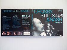 CROSBY STILLS & NASH - LIVE IN L.A.  -  DOPPIO DIGIPACK CD