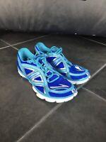 Brooks Pure Flow 3 P3 Womens Running Shoes Sz 7.5 Aqua Blue Silver 1201551B417