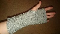 Hand Knitted Hand Warmers