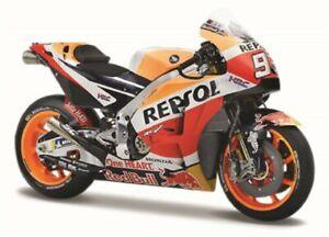 Maisto 1:18 MOTOGP 2018 Honda Repsol Team #93 Marc Marquez Motorcycle Bike Model