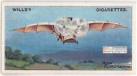 Clement Ader  French Inventor And Aviation Pioneer 100+ Y/O  Trade Ad Card