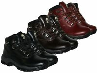 LADIES LEATHER UPPERS WATERPROOF WALKING/HIKING TREKKING BOOTS IN SIZE 4-6