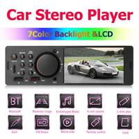 7805 4.1in TFT 1Din Car Stereo MP3 MP5 Player FM Radio BT4.0 USB AUX RCA