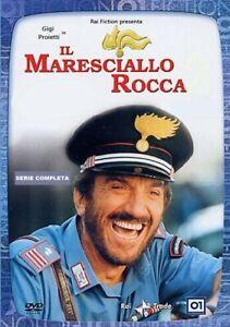 """SERIE TV COMPLETA 16 DVD 30 EPISODI  """"IL MARESCIALLO ROCCA"""" 6 STGIONI 1996/2008"""