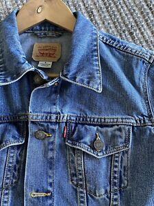 Levis Trucker Denim Jacket Womens Small