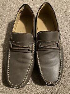 Geox Men's Leather Shoes US 7.5 Brown (Made In italy)