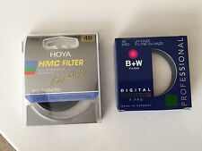 49mm Hoya HMC ND8 Multi Coated AND B+W MRC UV-Haze F-Pro Filters