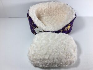 LSU Pampered Pets Dog Bed X Small Louisiana State University Collection Oval NEW