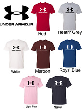Under Armour Men's Logo Tee Muscle Gym Shirt