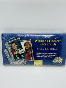 VINTAGE 1992 Winners Choice Race Cards Official Factory Sealed #03791 Of 10,000