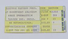 Bruce Springsteen Concert Ticket Stub Cincinnati OH 1984