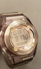 Casio BG-1302 Baby-G Stopwatch Alarm World Time Women's Watch 34mm