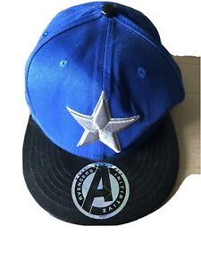 Captain America Marvel Cap Blue
