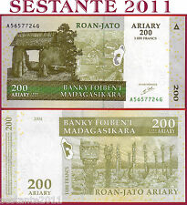 MADAGASCAR - 200 ARIARY 2004 Sign 5  - P. 87a    - FDS / UNC