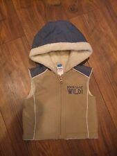 baby boys newborn 0 - 3 months up to 11lbs hooded gilet bodywarmer Smart Winter