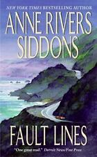 Fault Lines by Anne Rivers Siddons and Siddons (1996, Paperback)