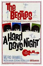 Movie Posters # 12 - 8 x 10 Tee Shirt Iron On Transfer Hard Day's Night-Beatles