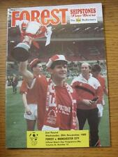 29/11/1989 Nottingham Forest v Manchester City [Zenith Data Systems Taza] (equipo C
