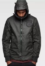 G-Star Batt Hooded Lightweight Jacket Hooded Green Mens Size UK L *REF38