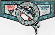 C703 OA BSA Scouts O-SHOT-CAW 265 - NOAC 1994 - FLORIDA MARLINS - S35b