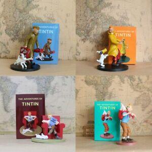 Vogue Statue Herge Adventure Comic Anime Tintin Milou Snowy in Trouble Le Lotus
