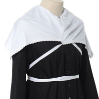 Christian Chuch Priest Pastor White Clery Amice Church Amice Liturgical Vestment
