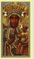 OUR LADY OF CZESTOCHOWA - Laminated  Holy Cards.  QUANTITY 25 CARDS