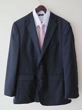 RRP £450 Louis Feraud Paris Men's 2 Pieces Super 100's Wool Suit 40R / W34 L32