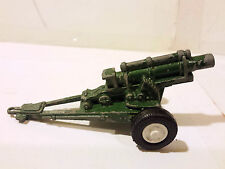 Tootsie Toy Howitzer US Army 2 White Wheels Diecast ds