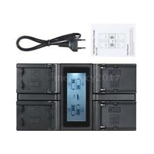 Andoer NP-FW50 NPFW50 NP-F970 4-Channel Camera Battery Charger for Sony α7 α7R