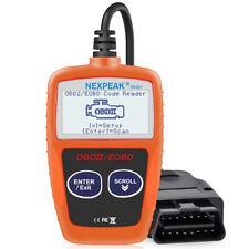 NX201 EOBD Escáner del diagnóstico del lector de código defecto del coche