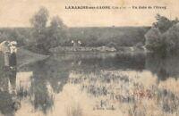 LAMARCHE-sur-SAONE - un coin de l'Etang  (Côte d'Or)