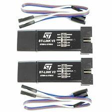 2 Pack ST-Link V2 Programming Unit mini STM8 STM32 Emulator Downloader