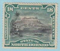 NORTH BORNEO 66 MINT HINGED OG *  NO FAULTS VERY FINE !